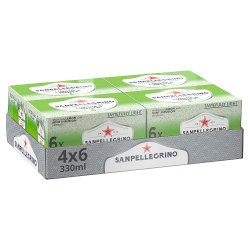San Pellegrino Lemon & Mint 4x6x330ml