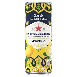 San Pellegrino Classic Taste Lemon Slim Can 330ml