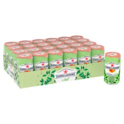 San Pellegrino Organic Sparkling Peach Tea 24x250ml