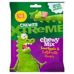 Chewits Xtreme Chewmix 125g