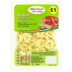 Delicatessen Fine Eating Tortelloni with Prosciutto 200g