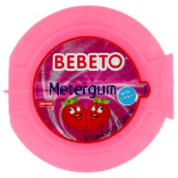 Bebeto Metergum Strawberry Flavour