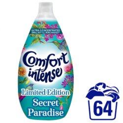 Comfort Intense Secret Paradise Fabric Conditoner 64 Wash 960ml