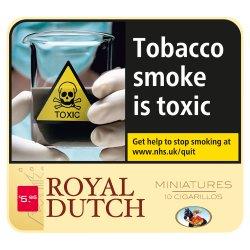 Royal Dutch Miniature 10 Cigarillos