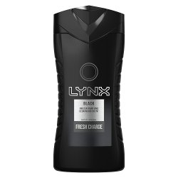 Lynx Black Shower Gel 250 ml