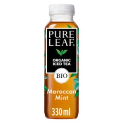 Pure Leaf Organic Iced Tea, Mint of Morocco 330ml
