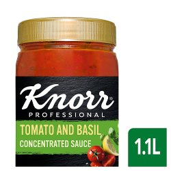 Knorr Tomato & Basil Concentrated Sauce 1.1L