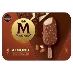 Magnum Almond Ice Cream 4 x 100ml
