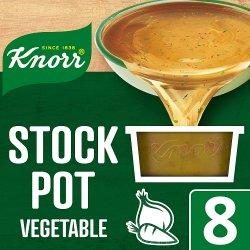 Knorr Vegetable Stock Pot 8 x 28g