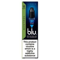 blu® Liquid Menthol 1.6% 10ml