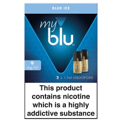 blu® myblu® Liquidpods Blue Ice 9mg/ml 2 x 1.5ml