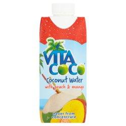 Vita Coco Coconut Water with Peach & Mango 330ml
