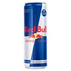 Red Bull Energy Drink, 355ml PMC £1.59
