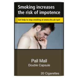 Pall Mall Double Capsule 20 Cigarettes