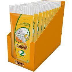 BIC 2 Sensitive P5 Razors - Box of 10