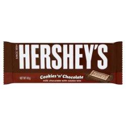 Hershey's Cookies 'n' Chocolate Bar 43g