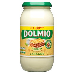 Dolmio Lasagne PMP £1.89 Creamy White Sauce 470g