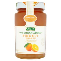 Stute No Sugar Added Fine Cut Orange Marmalade 430g