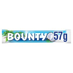Bounty Coconut Milk Chocolate Duo Bar 57g
