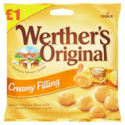 Werther's Original Creamy Filling 110g