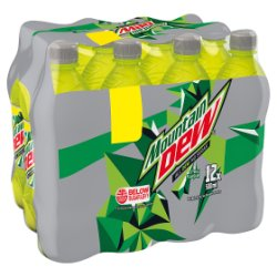 Mountain Dew Citrus Flavour 12 x 500ml