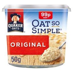 Quaker Oat So Simple Original Porridge Pot PMP 50g