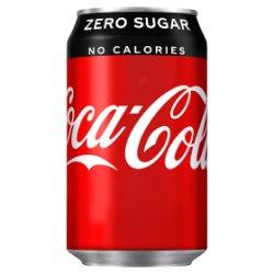 Coca-Cola Zero Sugar 330ml PMP 55p