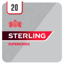 Sterling Superkings 20 Cigarettes
