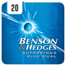 Benson & Hedges Superkings Blue Dual 20 Cigarettes