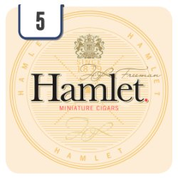 Hamlet 5 Miniature Cigars