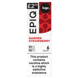 Logic Epiq Garden Strawberry 6mg/ml 50VG/50PG 10ml