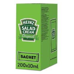 Heinz Salad Cream Original 200 x 10.5g