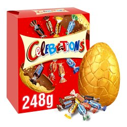 Celebrations Chocolate Large Easter Egg 248g