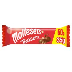 Maltesers Teasers Chocolate Price Marked Bar 35g