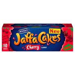 McVitie's 10 Jaffa Cakes Cherry Flavour