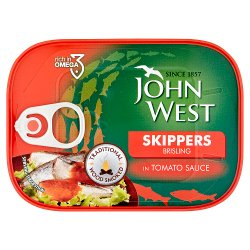 John West Skippers Brisling in Tomato Sauce 106g