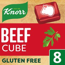 Knorr Beef Stock cubes 8 x 10 g