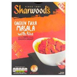 Sharwood's Chicken Tikka Masala with Rice 375g