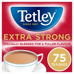 Tetley Extra Strong Tea Bags x75