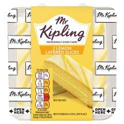 Mr Kipling 2 Lemon Layered Slices