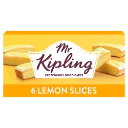 Mr Kipling 6 Lemon Layered Slices