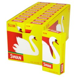 Swan Pre Cut Filter Tips Slim 20 x 102