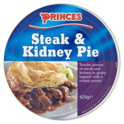 Princes Steak & Kidney Pie 425g