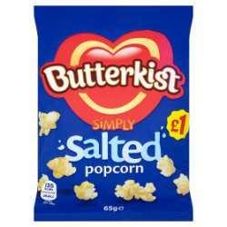Butterkist Simply Salted Popcorn 65g