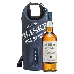 Talisker 10 Year Old Single Malt Scotch Whisky 70cl with Gift Box