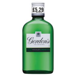 Gordon's Special Dry London Gin PMP £5.29 20cl
