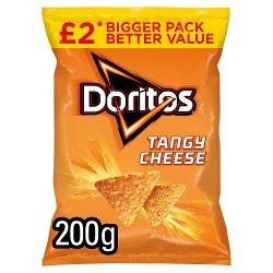 Doritos Tangy Cheese Sharing Tortilla Chips £2 RRP PMP 200g
