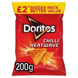 Doritos Chilli Heatwave Sharing Tortilla Chips £2 RRP PMP 200g