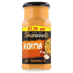 Sharwood's Cooking Sauce Korma 420g
