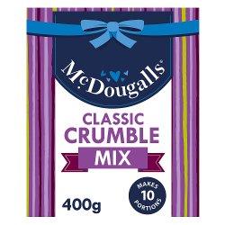 McDougalls Classic Crumble Mix 400g
